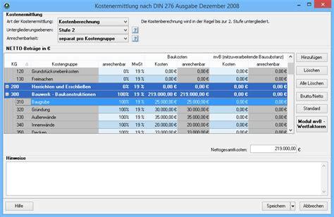 siemon tabelle hoai 2013 hoai honorarermittlung software programm pro wesa