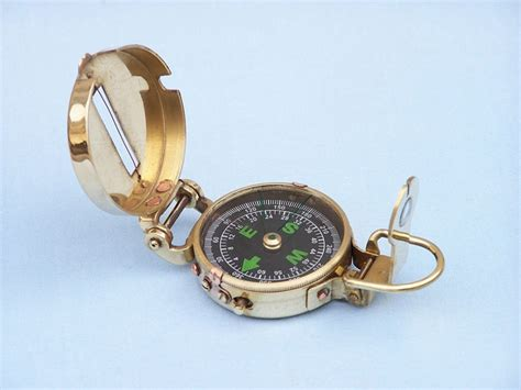 the brass compass buy solid brass compass 4 inch wholesale