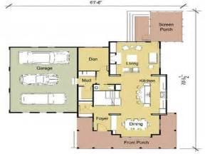 Modern Cottage Floor Plans by Modern Cottage Floor Plans Modern Floor Plans One Bedroom