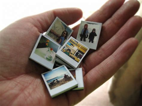 miniature polaroid mini polaroid magnets curbly