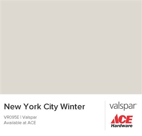new york city winter from valspar paint paint colors valspar and chips