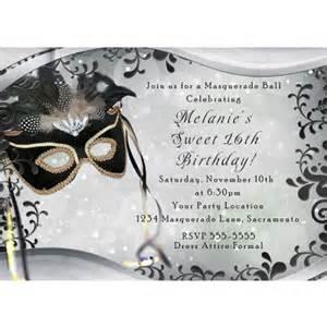 masquerade themed invitation templates 2 fabulous 10 masquerade invitations