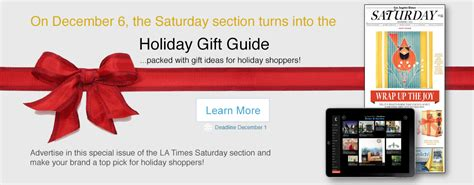 los angeles times saturday section los angeles times advertising services the easy way to