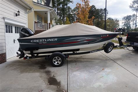 crestliner raptor boats crestliner 1850 raptor boats for sale boats