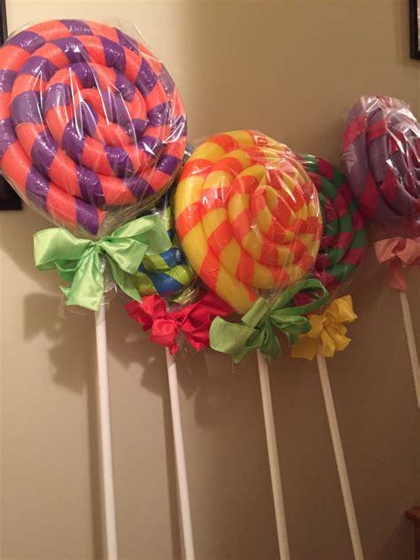 diy giant lollipops diy party crafts ideas