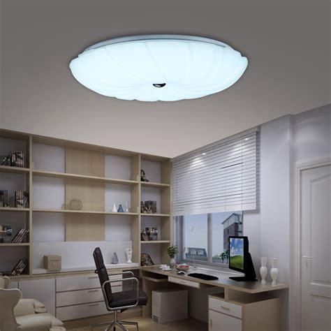 uk bright 24w round dimmable led ceiling down light flush