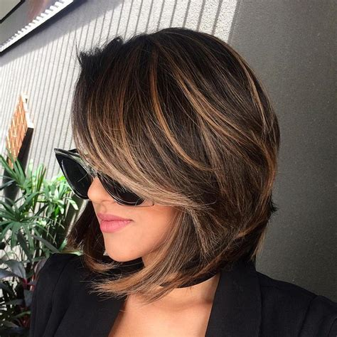 brunette with blonde highlights for women 50 and over 60 chocolate brown hair color ideas for brunettes