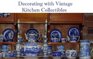 decorating with vintage kitchen collectibles