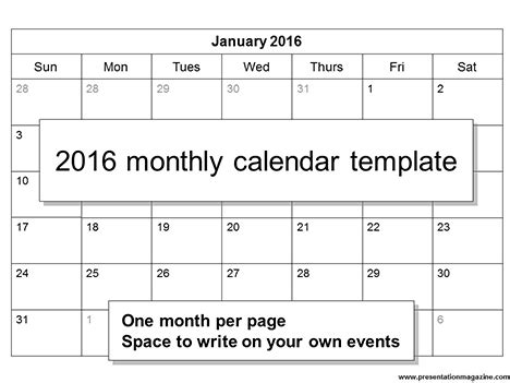 free printable 2016 2 page monthly calendar 5 5 x 8 5 free 2016 printable calendar template sunday start