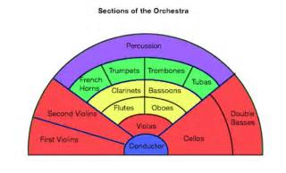 orchestra definition sections layout lesson