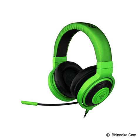 Jual Headset Gaming Razer Murah jual gaming headset razer kraken pro green gaming gear