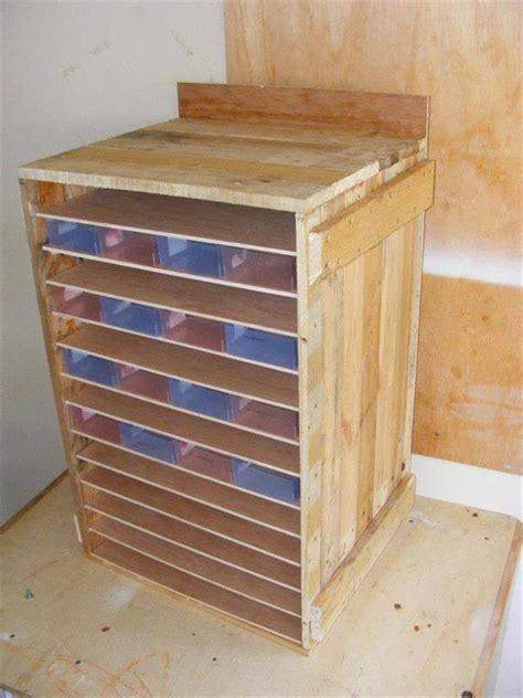 wooden tool storage cabinet pallet tool storage cabinet diy tutorial