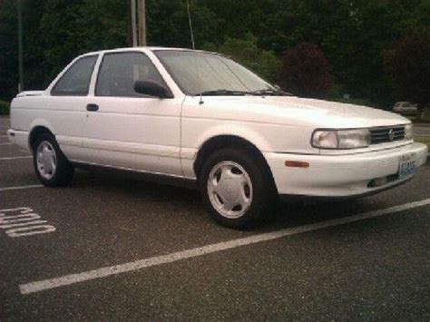 1992 nissan sentra overview cars com find used 1992 nissan sentra se r sedan 2 door 2 0l in arlington washington united states