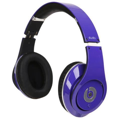 Gratis Ongkir Xiaomi Headphone 2 Original Hi Def Sound Diskon beats by dr dre studio high definition headphones purple grade a refurb iwoot