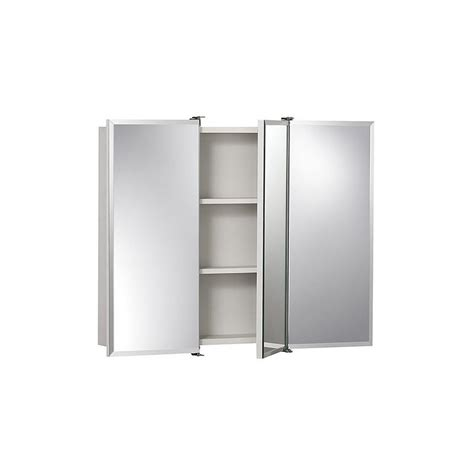 30 wide x 24 high medicine cabinet shop jensen ashland 30 in x 26 in rectangle surface