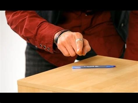 how to your tricks how to move a pen with your mind magic tricks