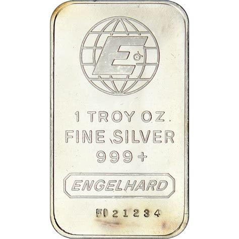 1 oz engelhard silver bar 999 silvertowne engelhard 1oz 999 silver bar secondary market