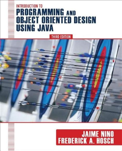 object oriented design tutorial java ebook introduction to programming and object oriented