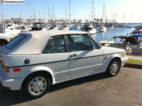 1992 Volkswagen Cabriolet For Sale by Sell Used 1992 Volkswagen Cabriolet Wolfsburg Edition In