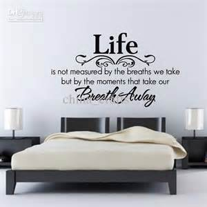 Quote Wall Stickers For Bedrooms bedroom wall quotes living room wall decals vinyl wall stickers with