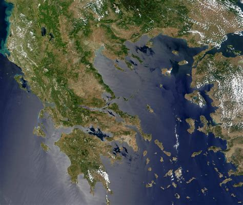 file sperchios river greece course by satellite image