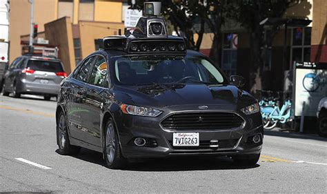 Ford 2020 Driverless by Self Driving To Travel On Uk Motorways By 2019