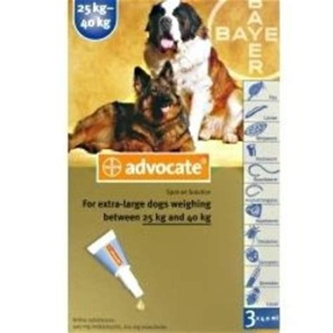 Advocate Xl For Dogs 25 40 Kg 1 Obat Kutu Anjing advocate for dogs xl 25 40kg health chemist direct