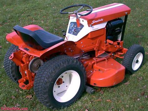 Simplicity Garden Tractors by Tractordata Simplicity Landlord 101 Tractor Photos