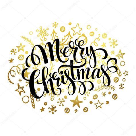 merry christmas letra imagenes letras de feliz navidad en el patr 243 n de oro de la doodle