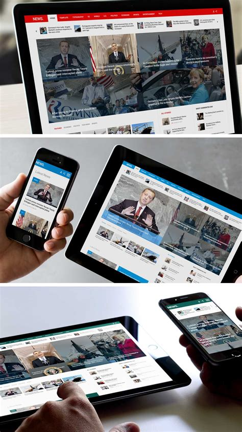 news in news template for magazine portal news website gavickpro