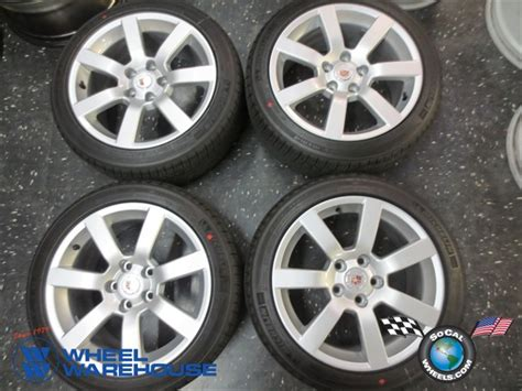 Tires For Cadillac Four 2013 Cadillac Ats Factory 17 Wheels Tires Rims Oem