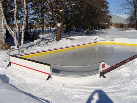 backyard hockey rink liner ice rink flooder