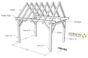 16 X 24 Barn Plans Online Store For Gibson Timber Frames For Timber Framing