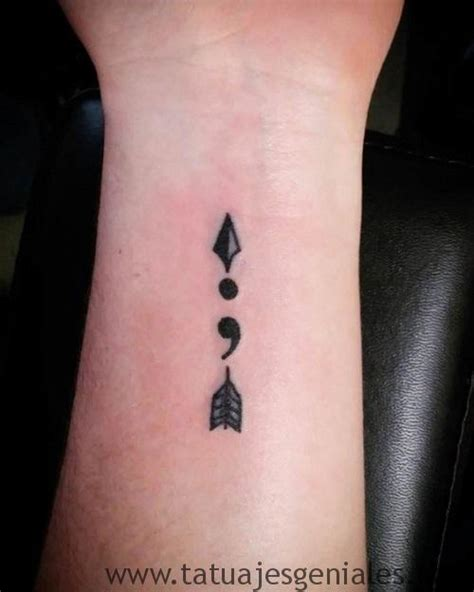 imagenes de tattoos geniales 191 qu 233 significado tienen los tatuajes de punto y coma