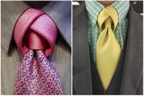 7 Of The Coolest Ties by Get Noticed Seven Eye Catching Tie Knots For The
