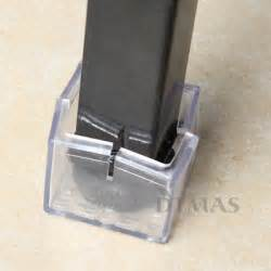 4x furniture chair table leg foot rubber covers floor