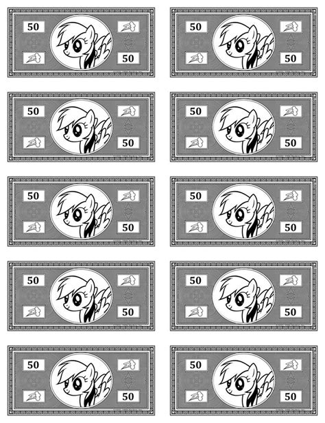 monopoly money template printable play money monopoly pictures to pin on
