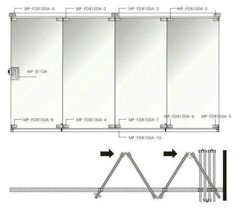 Mp fd8100a Glass Folding Door   Buy Mp fd8100a Glass