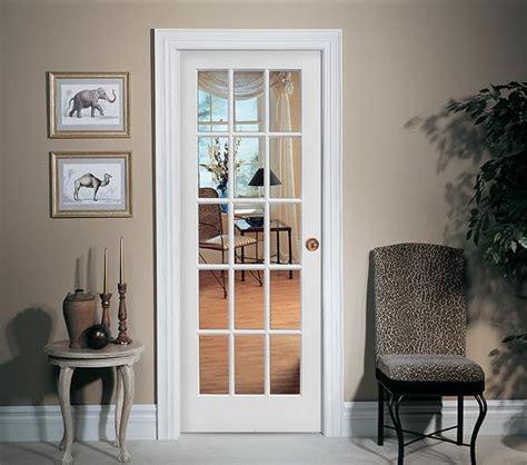 milette interior french door primed with 15 lites clear 15 lite french door primed door to door
