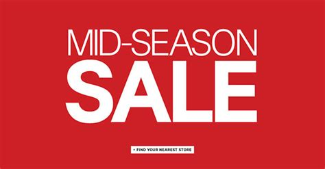 Sale Season Is Starting by H M Mid Season Sale 2014 Started All Stores In Singapore