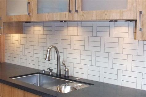 modern kitchen backsplash ideas black white yellow heath ceramics tiles more