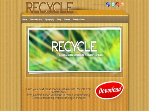 joomla empty template js recycle joomla template recycle