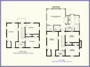 Second Floor Plans second story house additions floor plans trend home