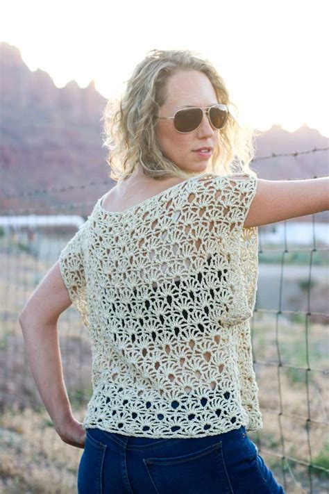 best crochet patterns canyonlands boho crochet top free pattern make do crew