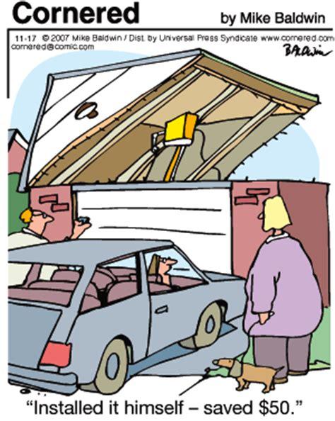 Garage Door Opener Jokes I Can Fly Just Not Up November 2007