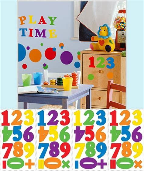 wall stickers numbers number wall decals popular items for wall decal on