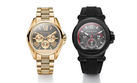 michael kors melancarkan dua jam tangan android wear scaniaz