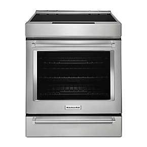 kitchenaid induction slide in range stoves kitchenaid
