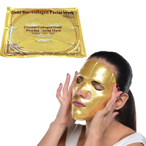 Masker Gold masker gold collagen beautiful me plus you cristal