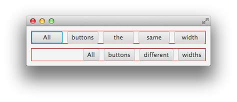 javafx layout elements javafx how to set same width for all buttons before